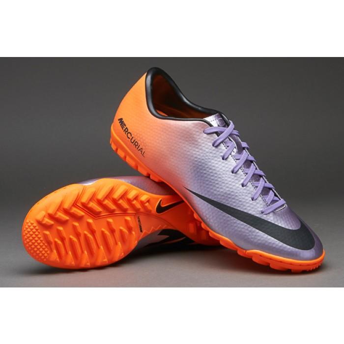 nike mercurial viola e arancioni