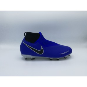 NIKE - JUNIOR PHANTOM VSN ACADEMY DF FG/MG BLU